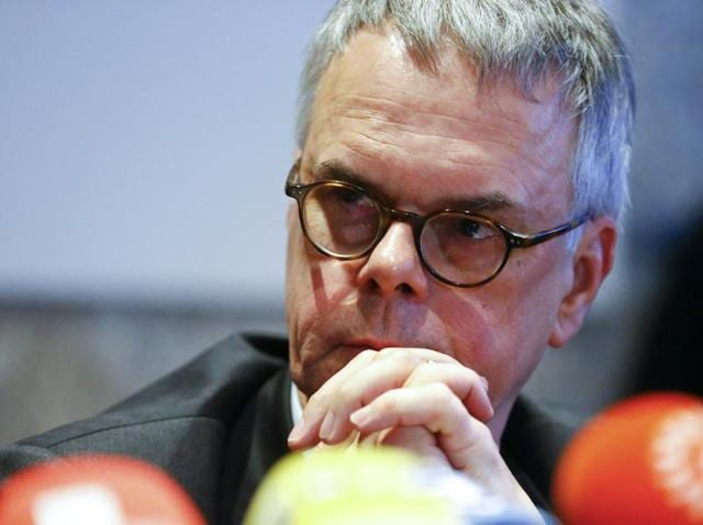 Cologne police chief Wolfgang Albers is pictured during a news conference in Cologne. Albers has been relieved of his duties on January 8, 2016, following criticism of his handling of violent clashes in the city on New Year's Eve.