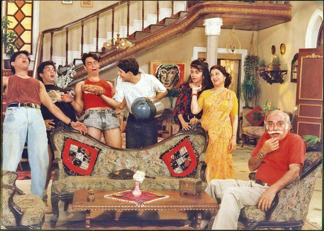 A scene from TV Serial Dekh Bhai Dekh. (HT Photo)