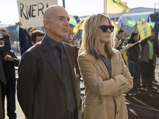 Billy Bob Thornton and Sandra Bullock in Our Brand is Crisis, a political satire in the vein of Wag The Dog and Dr Strangelove.