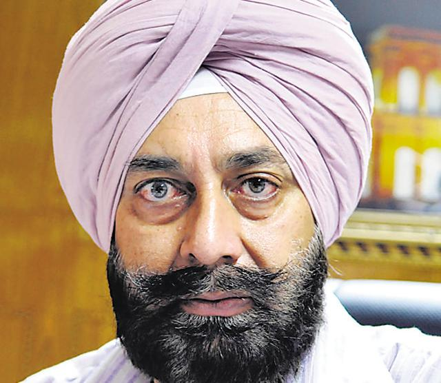 Sukhbir Singh Thind, principal, Government Mahindra College.