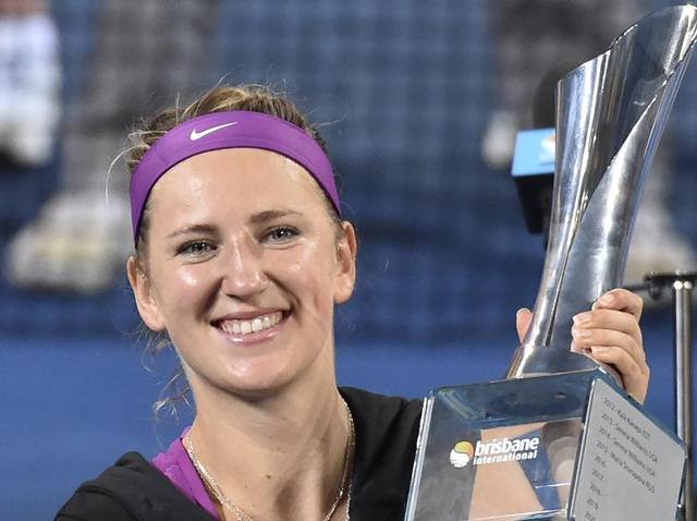 Victoria Azarenka,Angelique Kerber,Brisbane Open