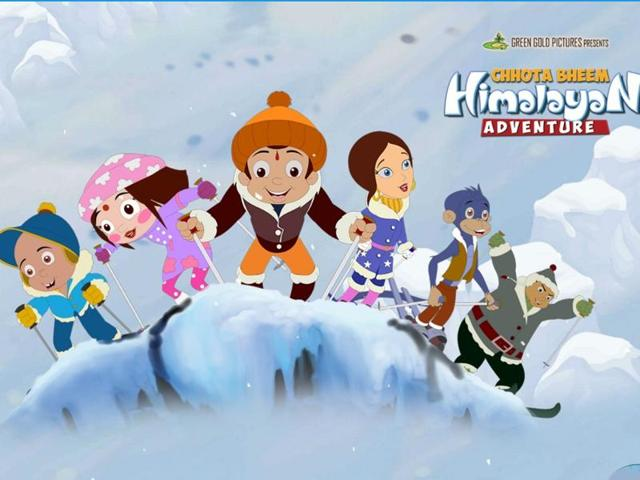 The story of Chhota Bheem: Himalayan Adventure is simple and meanders aimlessly with fun-filled skiing and life's lessons.