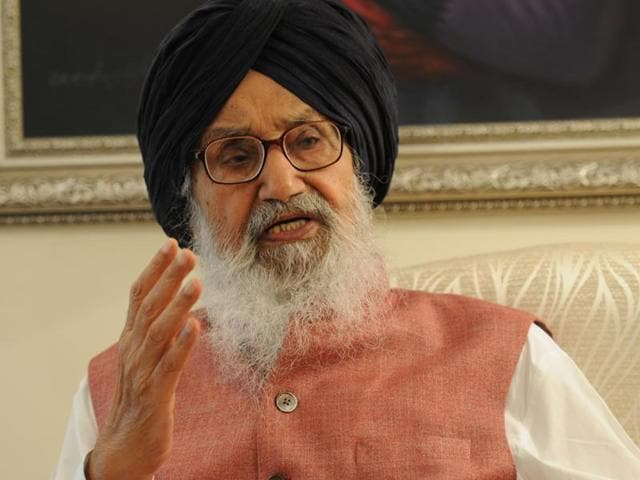 Punjab chief minister Prakash Singh Badal on Saturday said the party has attained power in Delhi by misleading the electorate.