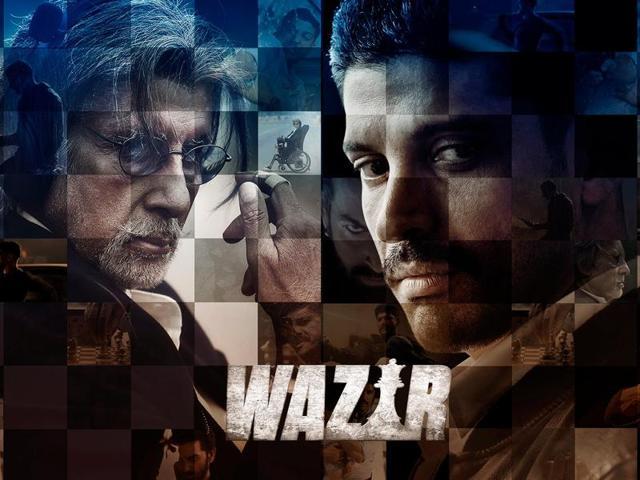 Wazir,Farhan Akhtar,Amitabh Bachchan
