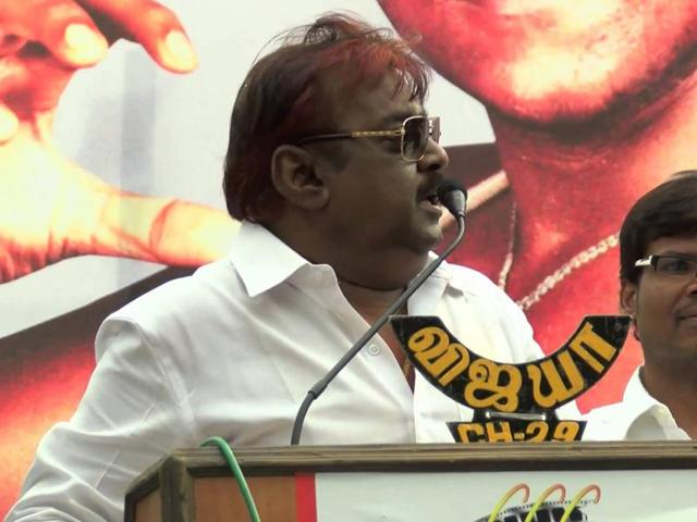 DMDKfounder Vijayakanth has kept poll-bound Tamil Nadu's political parties guessing over who he may choose to allly with.