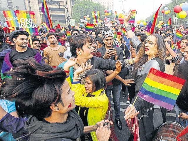 Activists take part in a march in New Delhi.