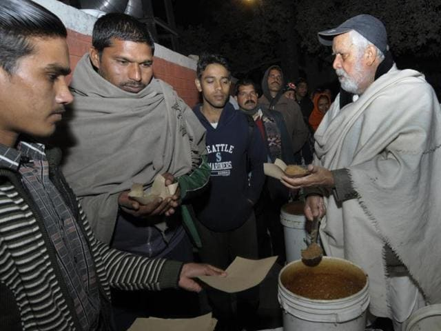 81-year-old Jagdish Lal Ahuja, popularly called as 'baba', has become 'too old' to continue the langar.