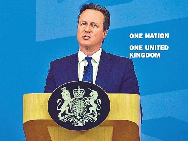 Prime Minister Daivd Cameron said that if Britons vote to leave the EU at a membership referendum, the government will have to make it work.