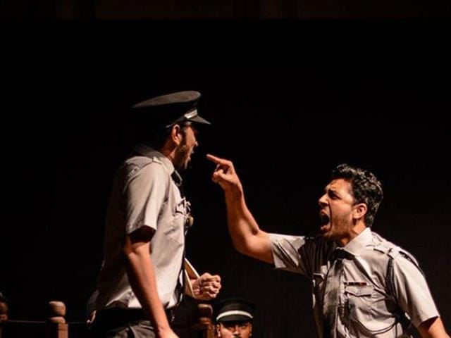 Young Karachi activists take up Swadesh Deepak's famous Hindi play 'Court Martial' as a symbol of solidarity in times of terror.
