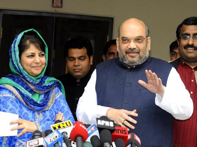 BJP-PDP alliance,Jammu and Kashmir,J-K government