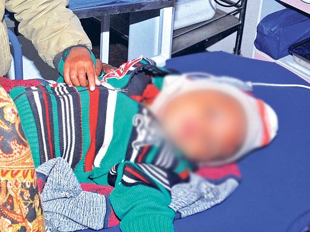 A traditional healer allegedly used a hot iron rod to brand a 22-day-old child, who was taken to him by his parents for treatment at a remote village in Odisha's Koraput district.