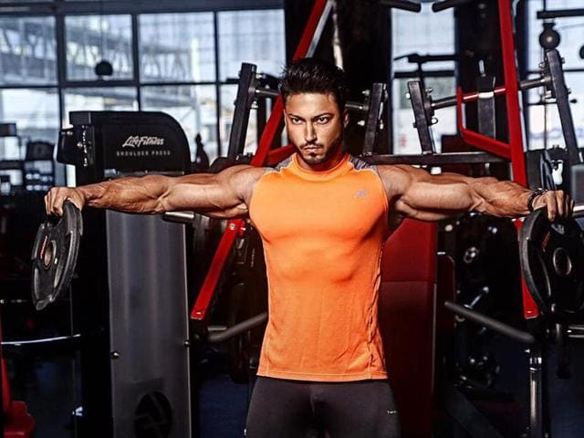 Defeating more than 32 fitness trainers from around the world, Yasir Khan made it to the competition to feature on the magazine's cover.