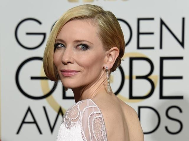 Cate Blanchett arrives for the 73nd annual Golden Globe Awards in California. The actress may play Thor's nemesis in Ragnarok.