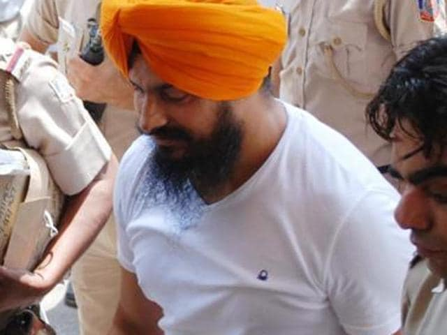 Jagtar Singh Hawara, a convict in former Punjab chief minister Beant Singh's assassination case
