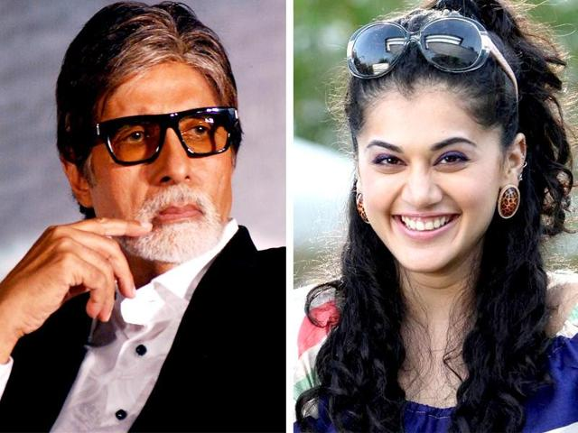 Taapsee will work with Amitabh Bachchan in Aniruddha Roy Chouwdhury in his Hindi directorial  debut.