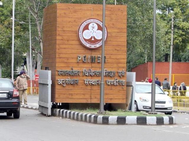 PGI Chandigarh.(HT FILE PHOTO)