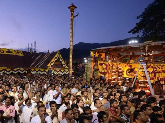The Supreme Court questioned the age-old tradition of banning entry of women of menstrual age group in Sabarimala temple.