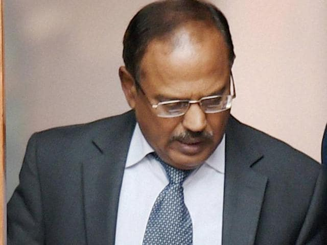 Peace talks with Pakistan will go ahead only if Islamabad acts against those behind the attack on the Indian air base in Pathankot earlier this month, National Security Adviser Ajit Doval said on Monday)