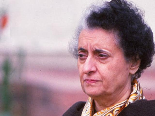 File photo of former prime minister Indira Gandhi. The Bihar government website had called former PM Indira Gandhi's rule worse than British Raj, a reference which was removed a day later on Monday, January 11, 2016.