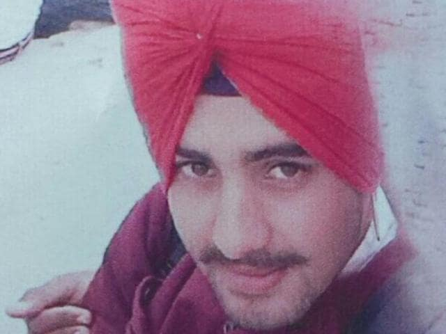 Old picture of Avtar Singh who was found murdered in Tarn Taran village.