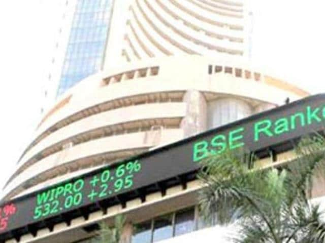 The BSE index settled 109.29 points or 0.44% lower at 24,825.04, back in the red after it had risen 82.50 points on Friday.