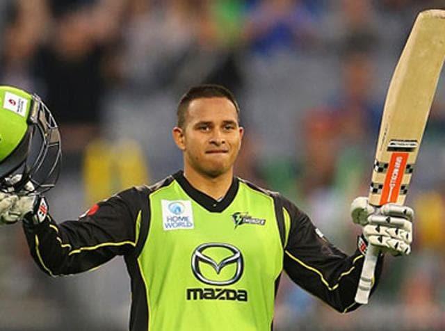 Usman Khawaja was named as a replacement for David Warner who is taking paternity leave.
