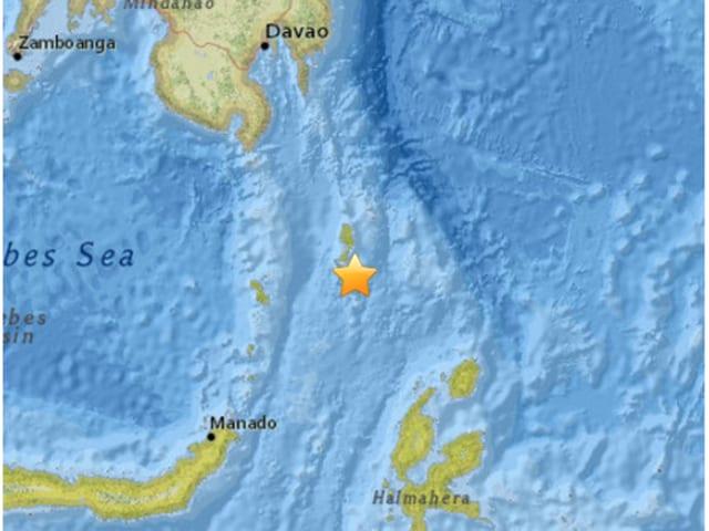 6.4 magnitude quake hits off Indonesia, Philippines, no tsunami threat