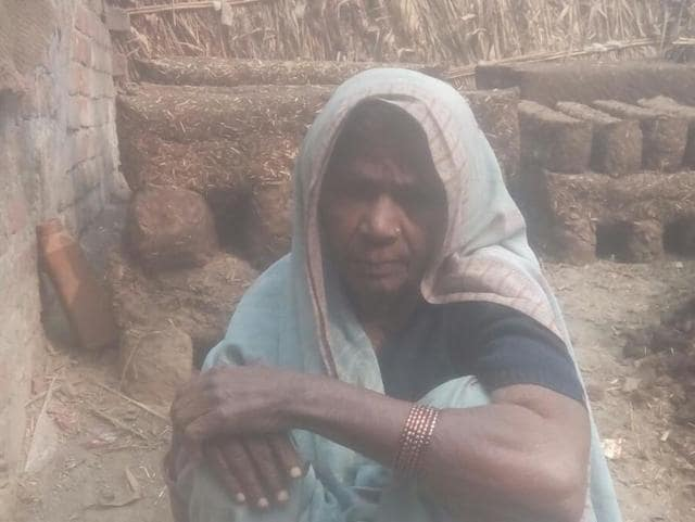 Sunra Devi is 90 and bedridden due to asthma and cardio-vascular diseases but spends all her time in prayer.