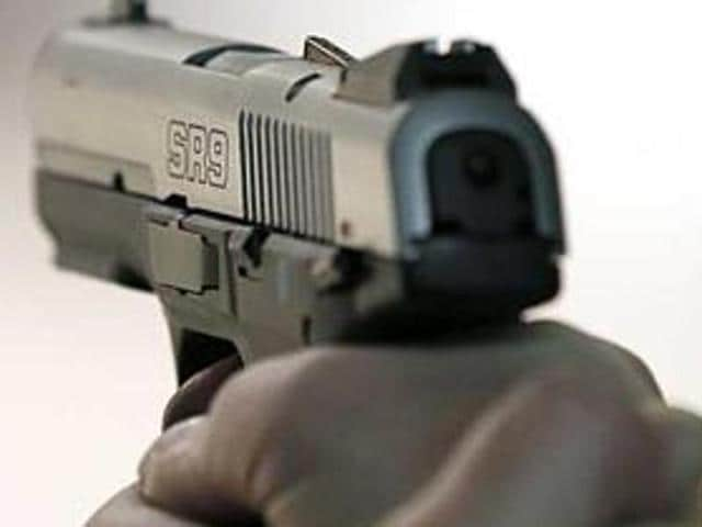 A newly elected village head was shot dead allegedly by the son of the candidate who lost to him in Kheri Taloda village in Jind on Tuesday