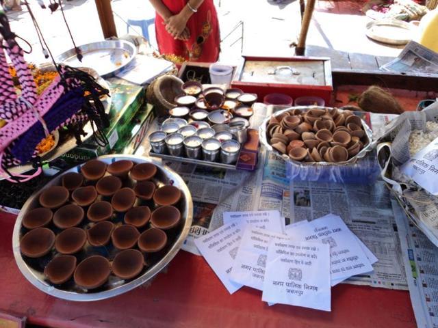 traders go green,Gwarighat,polythene bags