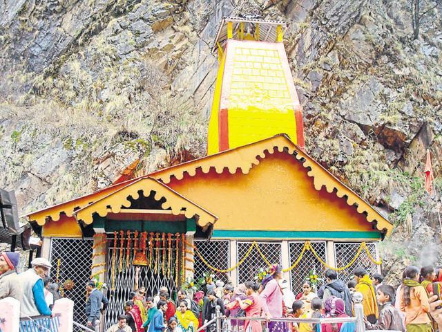 Yamunotri temple in Uttarkashi.