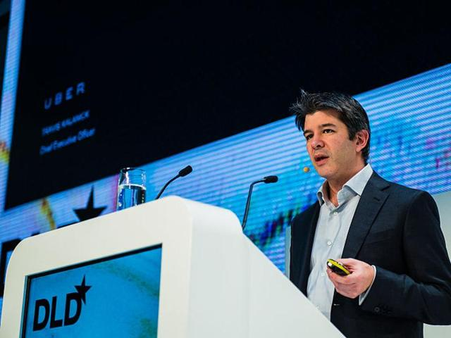 Uber chief Kalanick to offer start-up advice in IITBombay on January 19