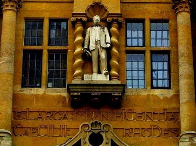 Ceceil Rhodes,Rhodes scholarship,Rhodes statue removal