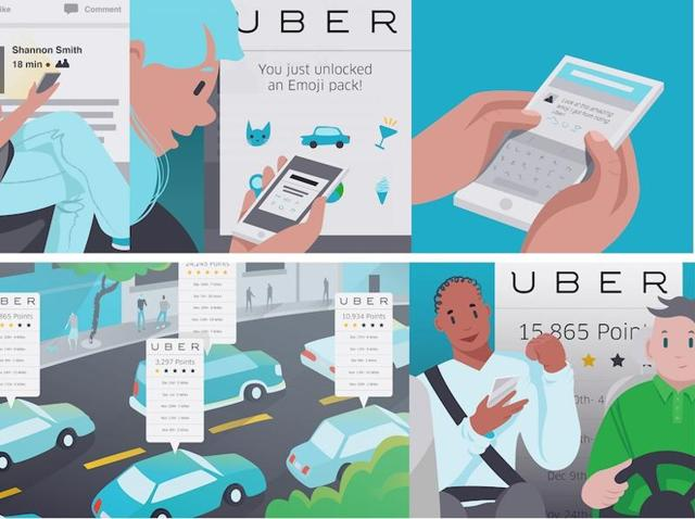 The new feature allows riders to connect their favourite apps to Uber .