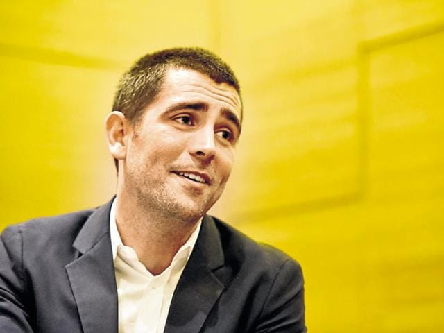 Chief product officer, Facebook, Chris Cox in coversation with HT, in New Delhi.