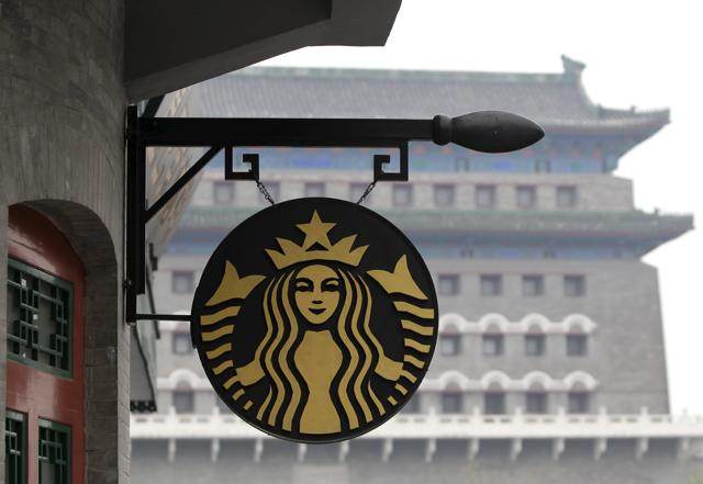Starbucks said it expects China to eventually overtake the US as the coffee chain's largest market