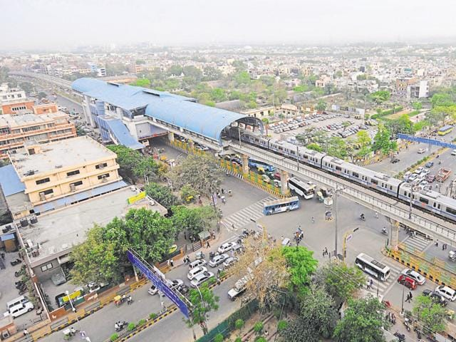 The Delhi Metro Rail Corporation (DMRC) said that metro ridership in Noida witnessed a decline after January 6 this year.