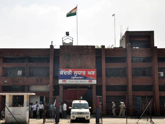 Central Jail at Tajpur road in Ludhiana.