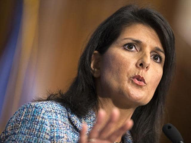 Haley recounted her own Indian American heritage to call for fixing the country's broken immigration system