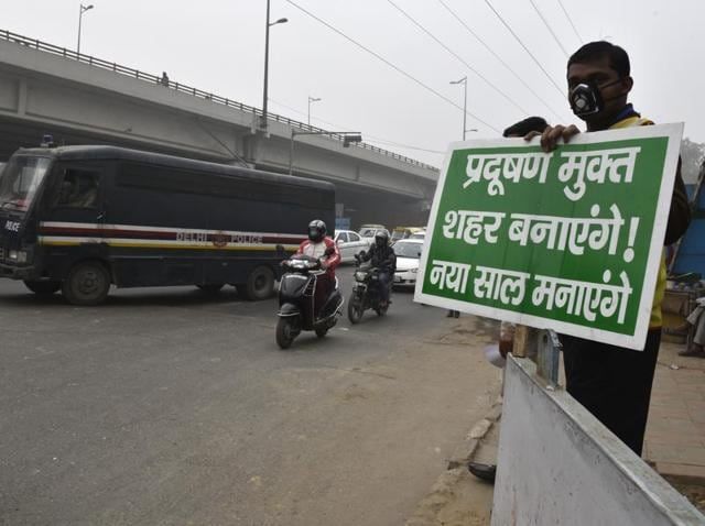 The road space rationing experiment kicked off on January 1 as one of the primary measures to clear the city's toxic air that has been making international headlines.