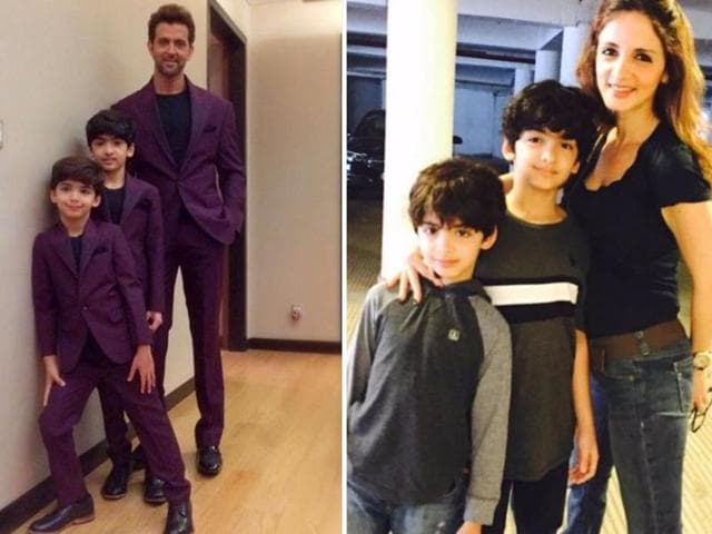 Sussanne Khan has said ex-husband Hrithik Roshan and she will continue to be good parents to their sons. We ask experts how divorced couples can be there for their kids.