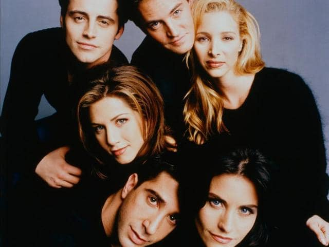 Jennifer Aniston, Courteney Cox, Lisa Kudrow, Matt LeBlanc, Matthew Perry and David Schwimmer will be seen together for a tribute to TV comedy director James Burrows.