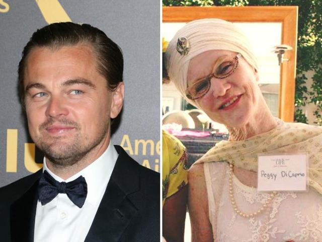 Peggy married George DiCaprio in 1995 and also has a son, Leonardo's step brother, Adam Ferrar.