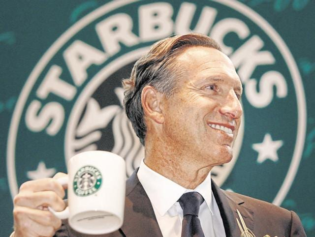 Starbucks chief executive Howard Schultz: In future, 'India will rival many of the larger markets around the world'.