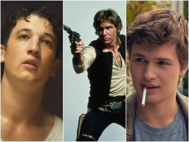 Miles Teller or Ansel Elgort may play Han Solo soon.