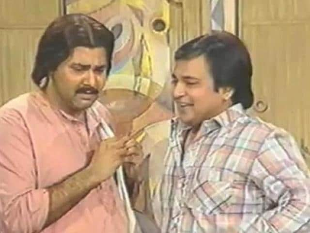 Satish Shah and Rakesh Bedi in Yeh Jo Hai Zindagi. (YouTube)