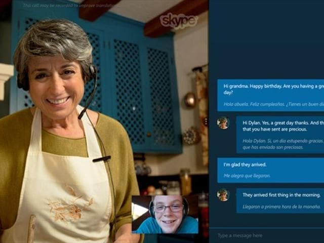 Voice and Text translations work in real time with the app acting as a translator.