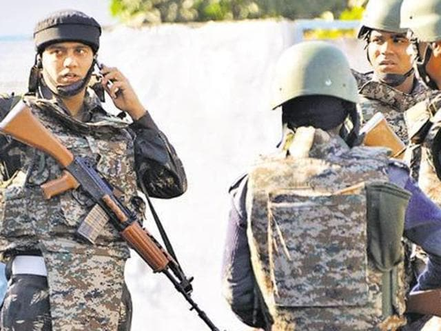 Security forces have stepped up vigil in defence areas following the Pathankot terror attack.