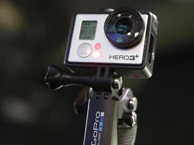 GoPro on Wednesday announced it will cut seven percent of its workforce and that revenue last year was less than expected, sending the mini-camera maker's shares into a dive
