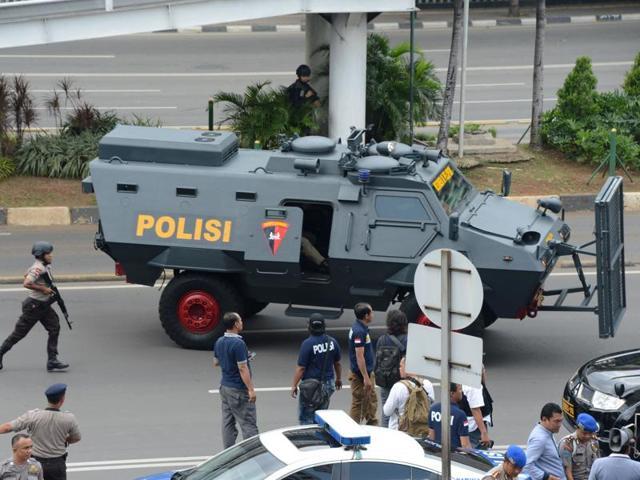 Timeline of Jakarta blasts,Explosions in Jakarta,Blasts in Jakarta